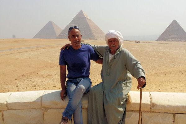Hussein à Gizeh