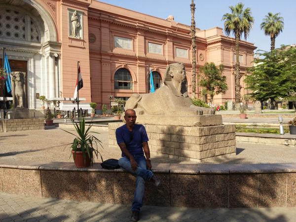 Hussein au Caire
