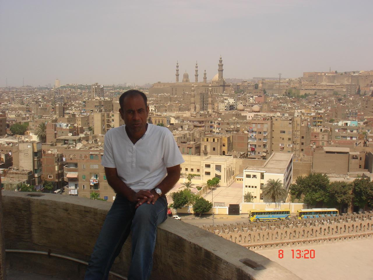 Hussein - Vue sur le Caire