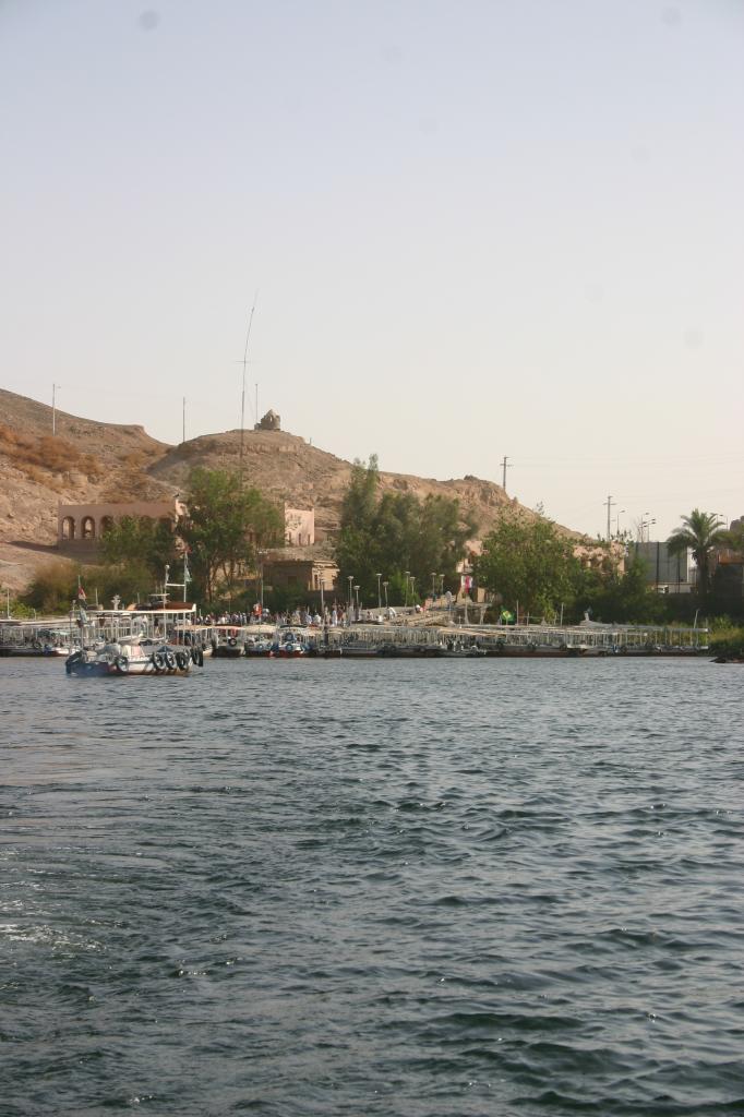 l'embarquadère du temple de Philae