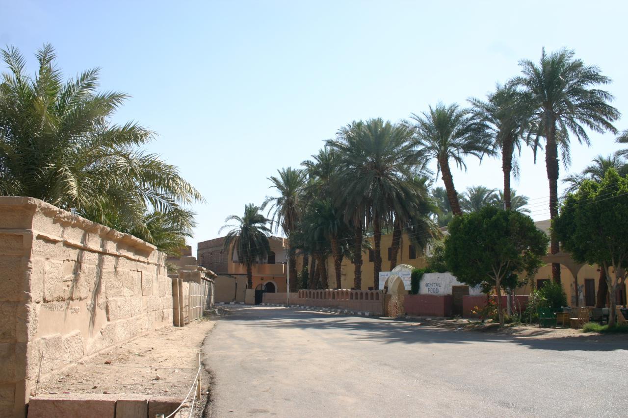 le village de Gourna