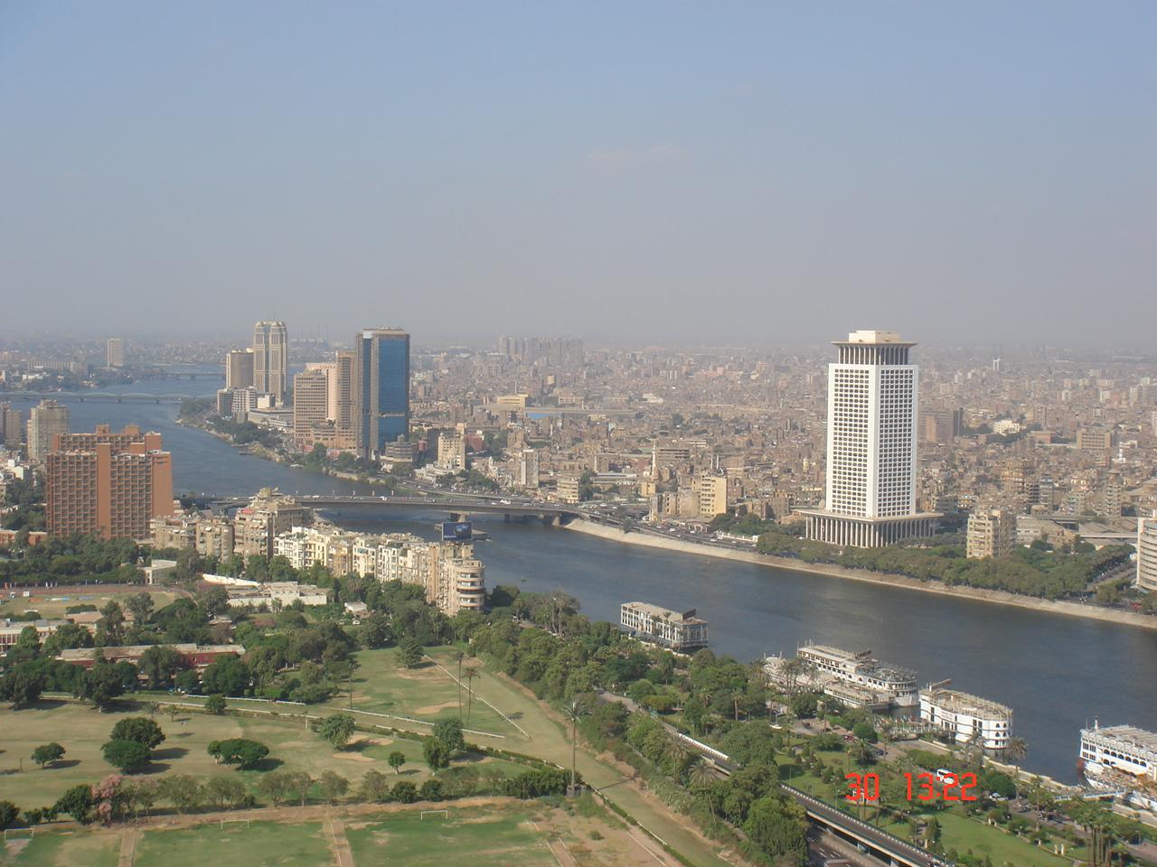 Le Caire, capitale d'égypte ....