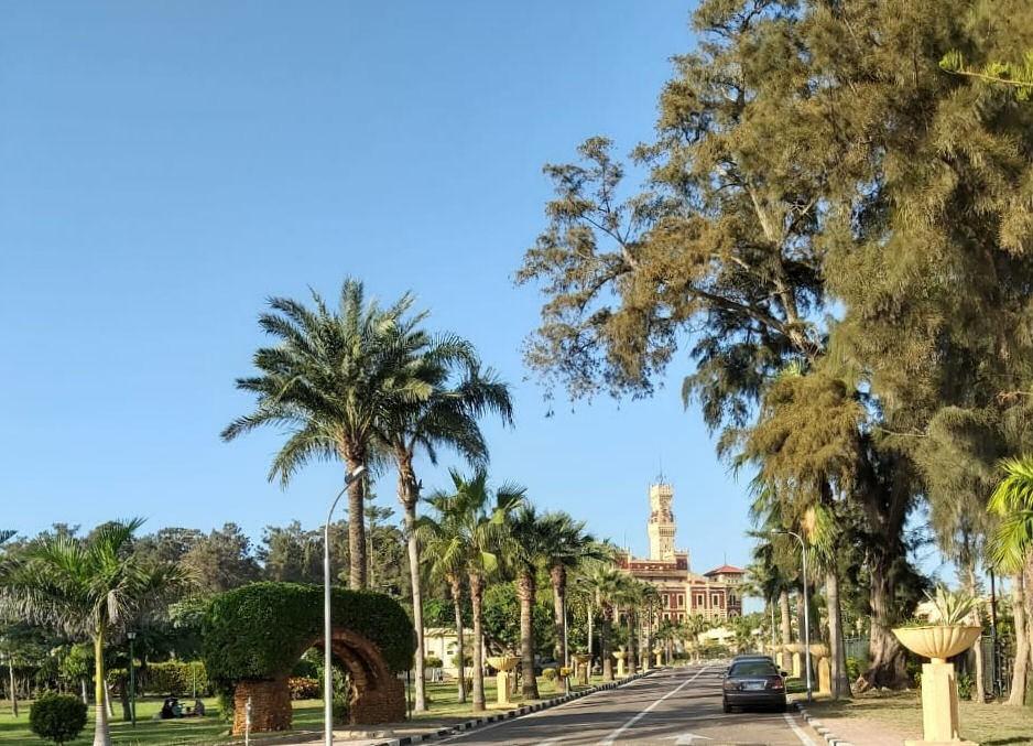 Jardin du palais montazah