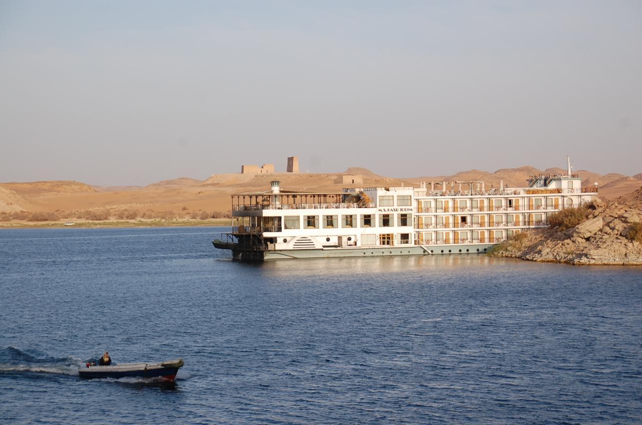 Le lac Nasser d'Assouan à Abou Simbel