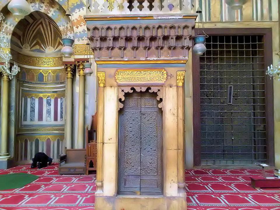 Le minbar de la mosquée du sultan Hassan