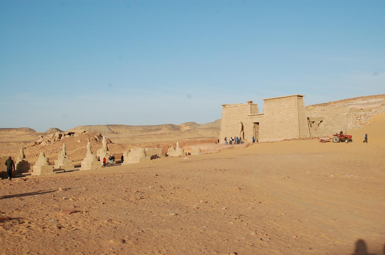 Le site de Wadi El-Seboua