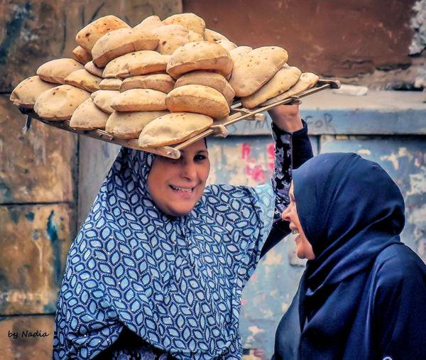 Les galettes de pain