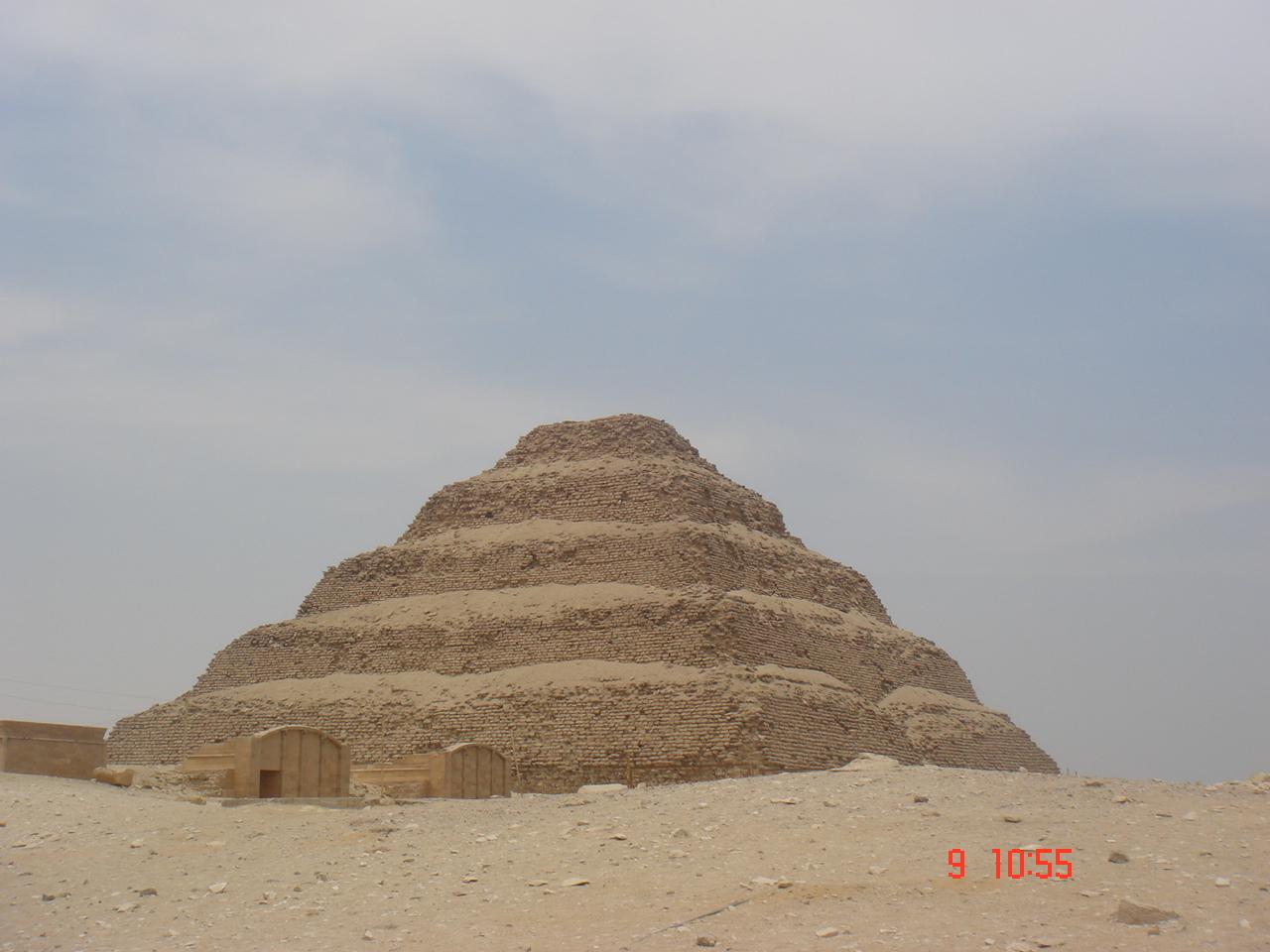 la pyramide de Saqqara