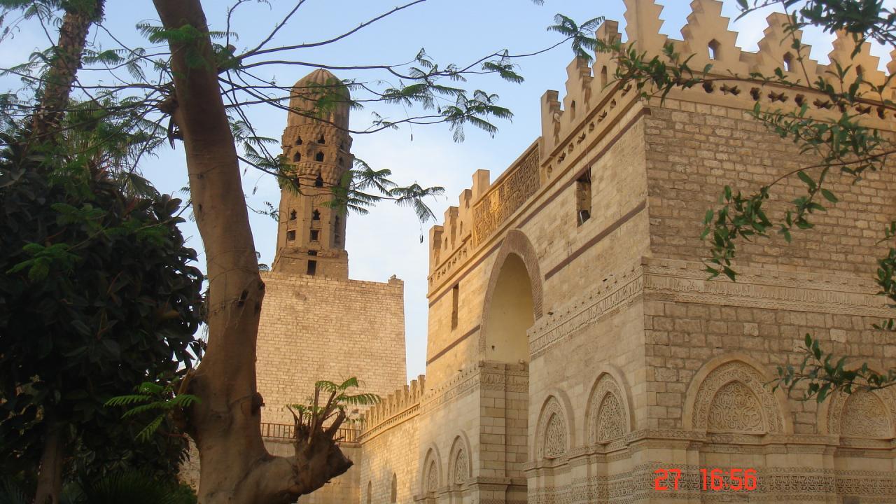 Une mosquée au Caire