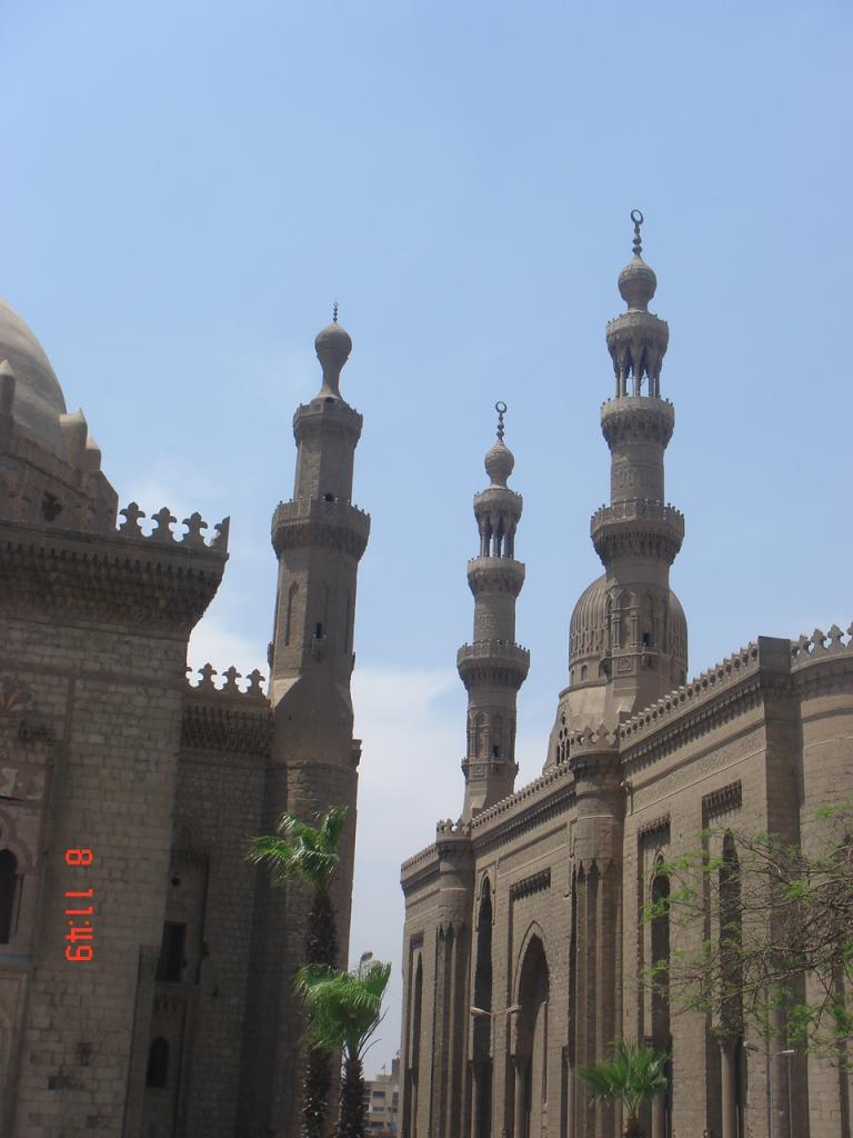 La mosquée du sultant Hassan et la mosquée El Refaie,