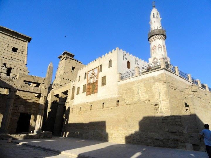 Mosquée d'Abou el-Hagag dans le temple de Louxor