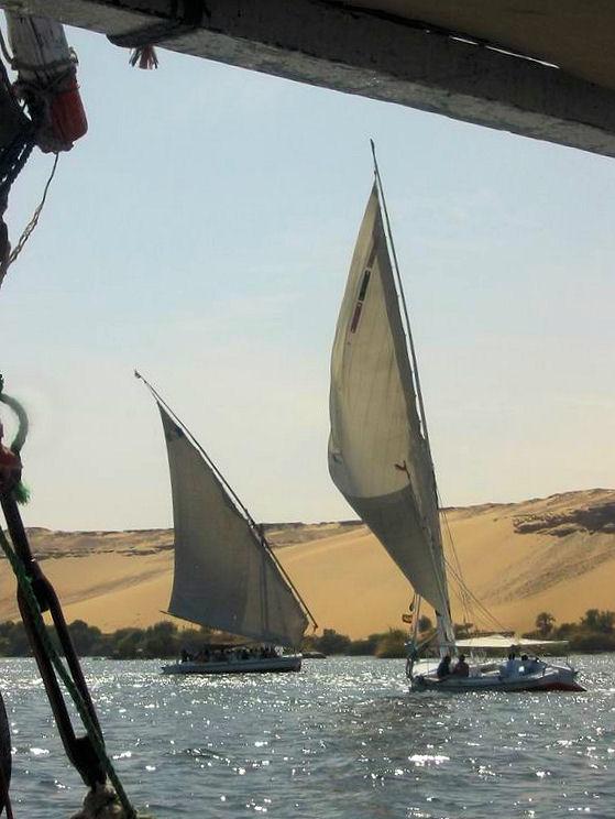Felouque sur le Nil