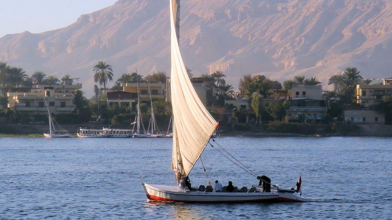 Le Nil vers Louxor