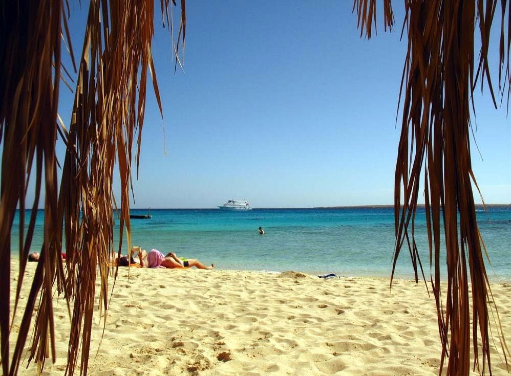 Plage d'El Sharm el Naga