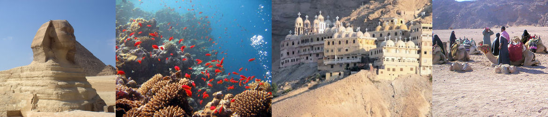 Excursions au départ d'Hurghada, El-Gouna ou Safaga