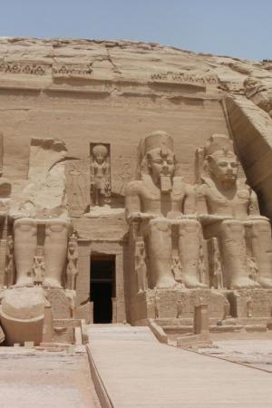Le Temple d'Abou Simbel