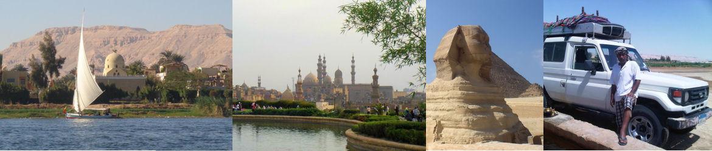 Séjours d'une semaine et plus en Egypte