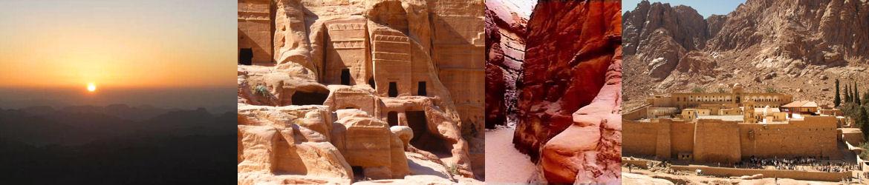Excursions à partir du sud du Sinaï