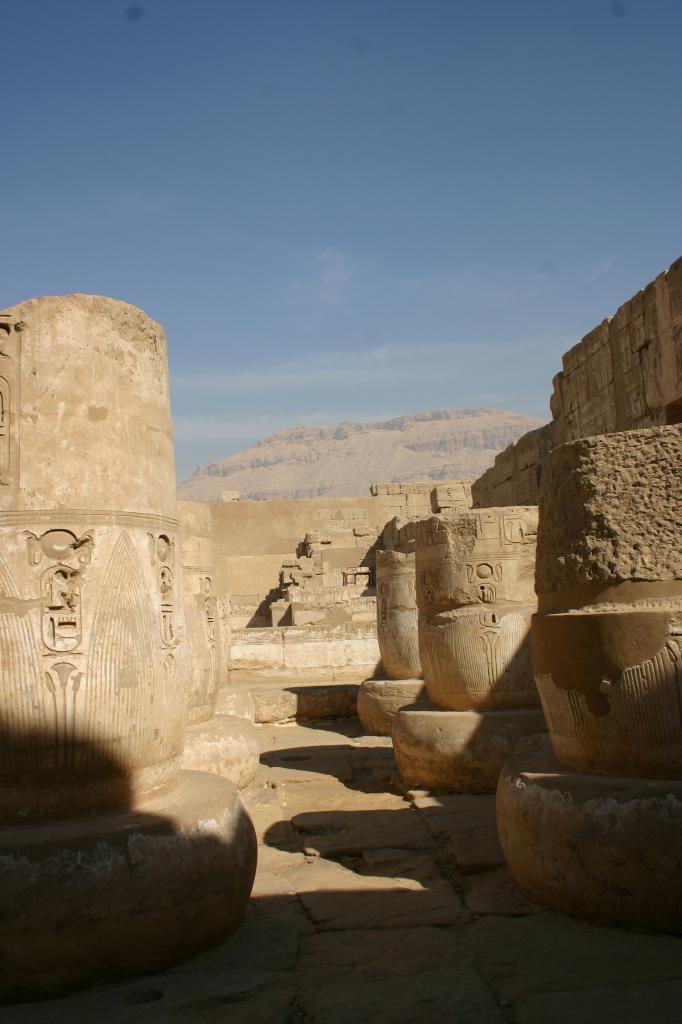 le temple de Habou