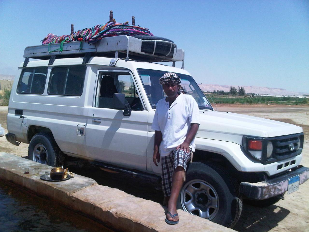 Hussein - En route vers le Désert Blanc