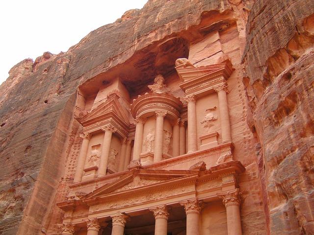 Le khazneh à Petra