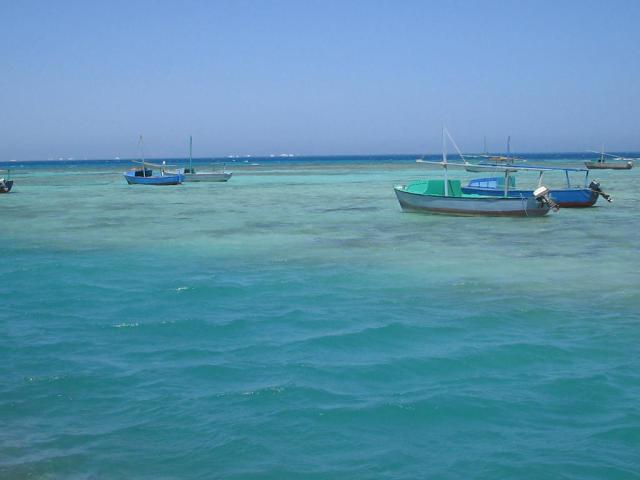 Les bateaux d'Hurghada