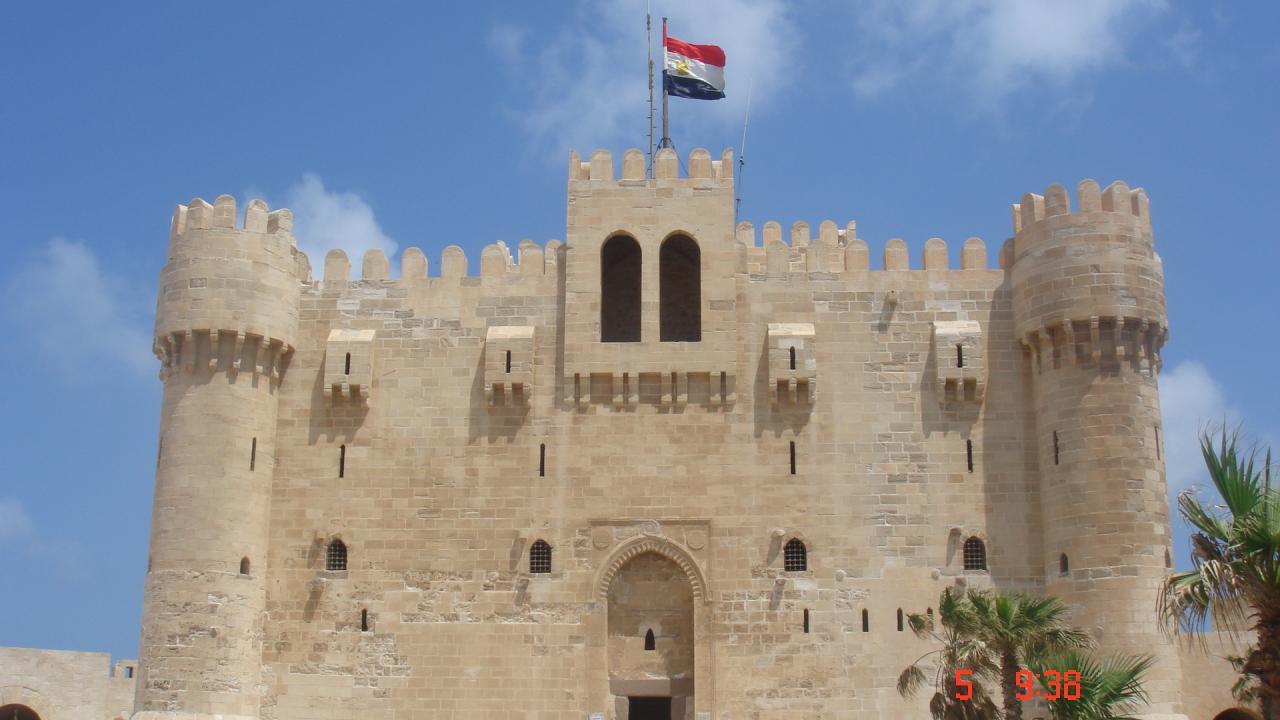 Le fort d'Alexandie