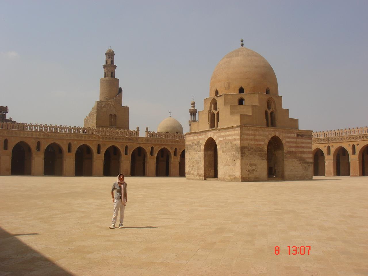 La mosquée d'Ahmed ibn Toulon au Caire islamique