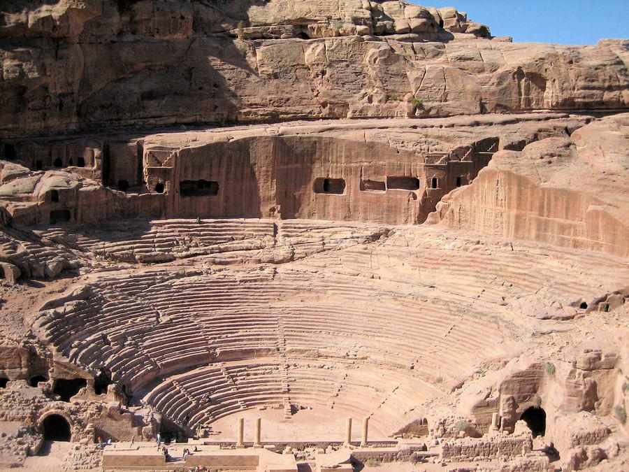 Le théâtre Romain de Petra
