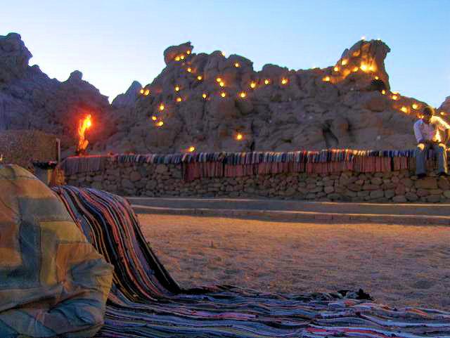 Soirée chez les bedouins