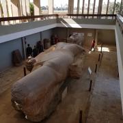 Statue de Ramses 2 à Memphis