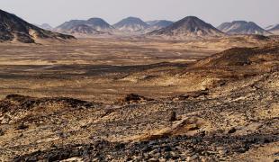 Desert noir egypte