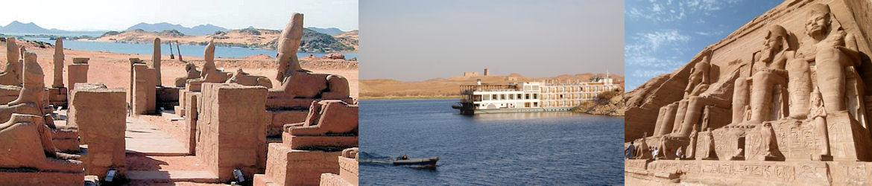 Croisière sur lac Nasser