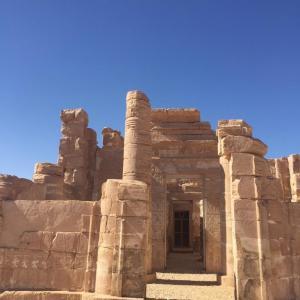 Dakhla ruines romaine deir el hagar