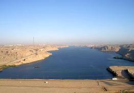 haut barrage d'assouan