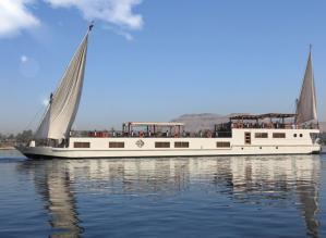 Dahabeya sur le Nil