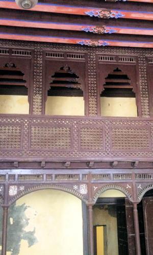 Rosette architecture de 18eme siecle
