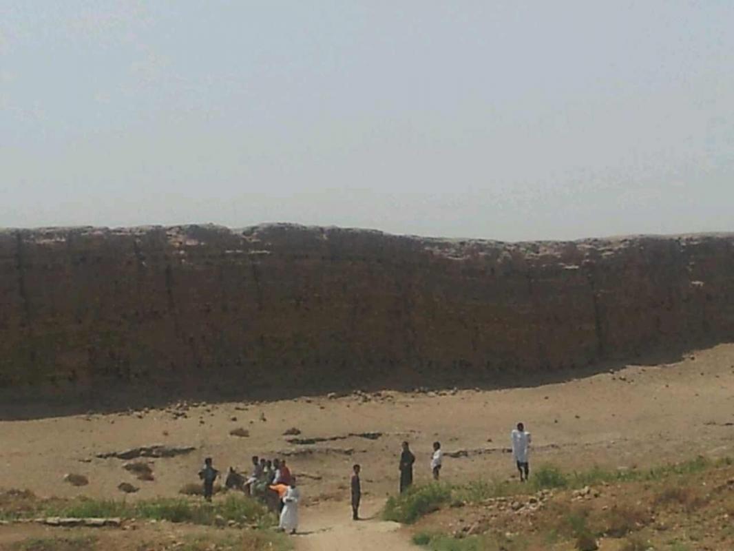 Le site d'El - Kab